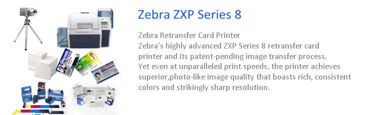 ZXP Series 8™ Retransfer Card Printer